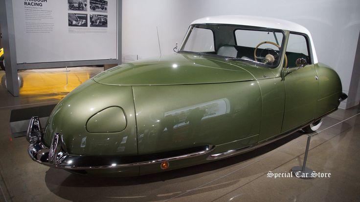 1948 davis divan rare 3 wheeled car restored by bodie