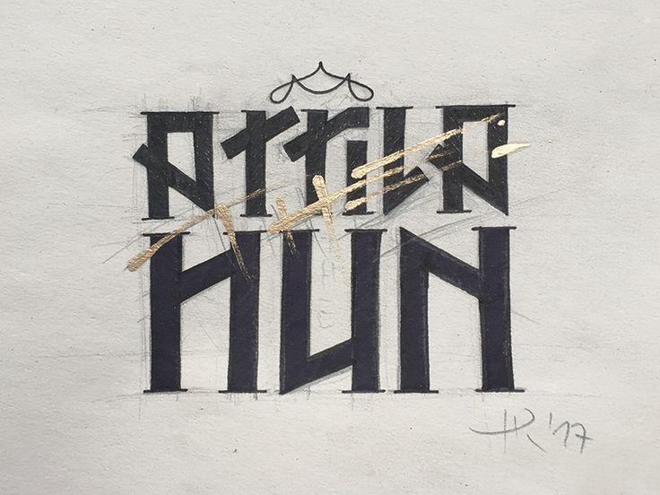 Attila  by Roland Huse