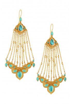 Amrapali: Jhoomer inspired earrings, sooo perfect