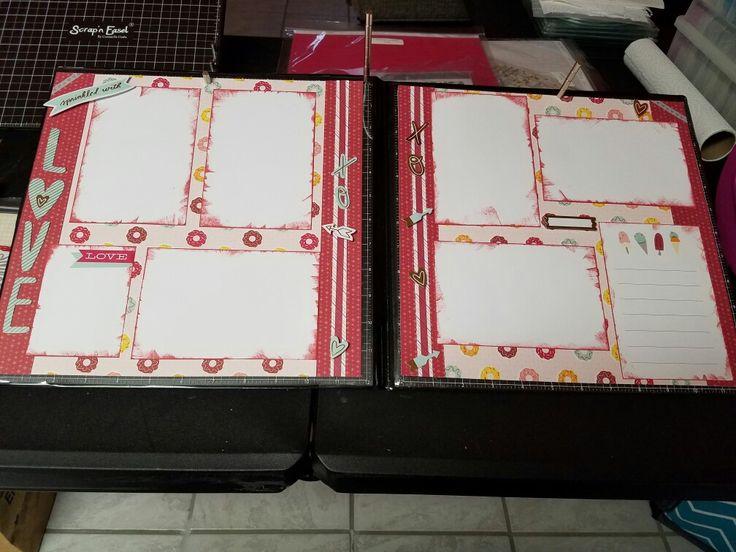 CTMH Sugar Rush Kit layout 3