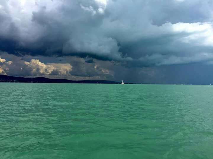 Stormy Balaton - visit this beautiful lake with Budapest 101!