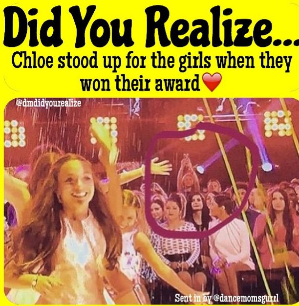 Chloe is amazing. She loved the girls and didn't hold any grudges against them. They were all the best of friends and wanted to see each other succeed.
