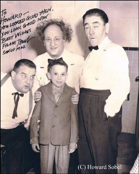 Dewey Cheatem And Howe >> My chance to join the The Three Stooges at age seven ...