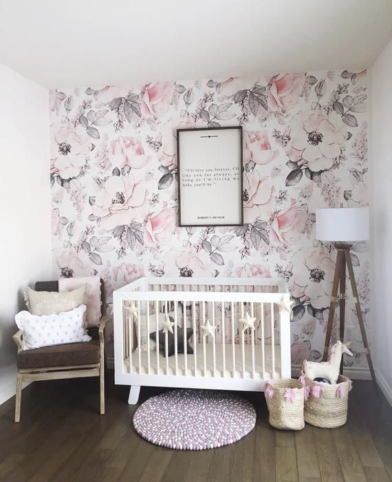 Giant Pink And White Peony Removable Wallpaper Peel And Stick Wallpaper Wall Mural Self Adhe Deco Mur Chambre Bebe Decoration Chambre Bebe Deco Mur Chambre