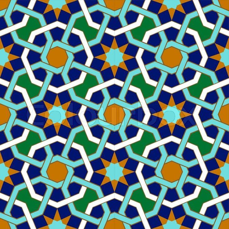 Stock vector of 'Abadan Seamless Pattern Three'