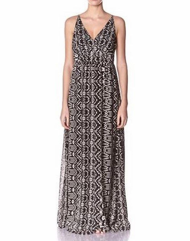 D2 Folk Maxi Dress | 27 Boutique The D2 Folk Maxi Dress from ONLY. A gorgeous empire waisted maxi dress that can be dressed up for any summer occasion or worn casually with a cropped denim jacket.