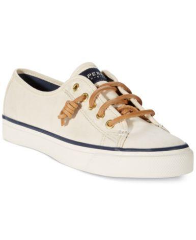 Sperry Women's Seacoast Canvas Sneakers | macys.com