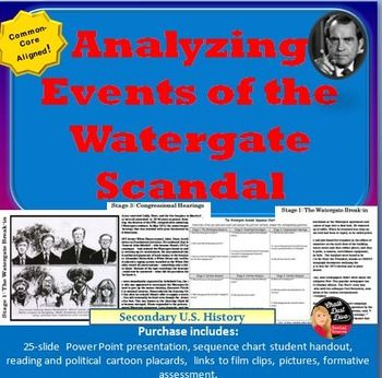 an analysis of the watergate scandal The watergate story a burglary at a washington office complex called the watergate in june 1972 grew into a wide-ranging political scandal that culminated in the resignation of president richard nixon two years later watergate is shorthand for this tumultuous time in america and its enduring impact.