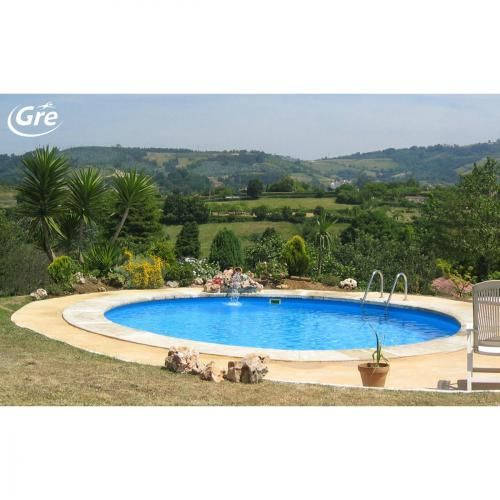 Les 25 meilleures id es de la cat gorie piscine enterr e sur pinterest piscine en bois - Piscine ronde acier poitiers ...
