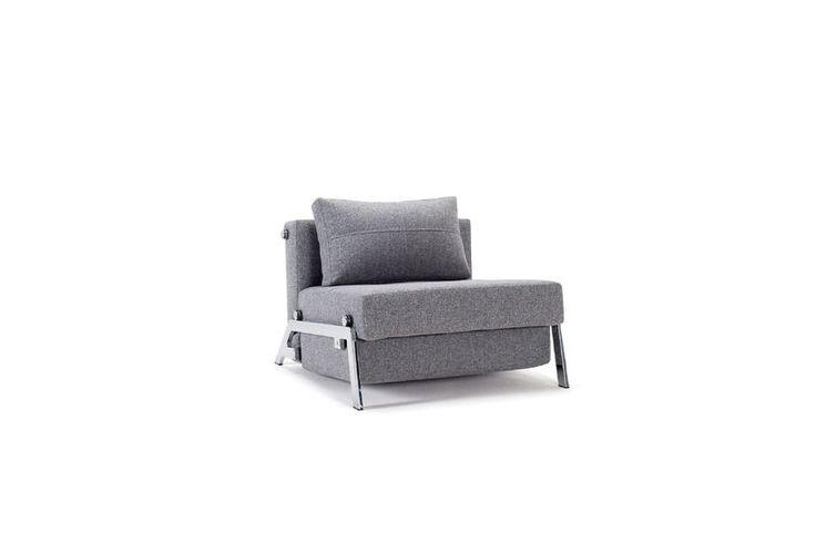 Cubed Chrome (slaap)stoel van Innovation Living www.innostore.nl