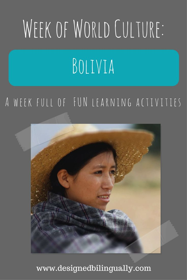 Need a fun family activity? Want to learn more about another country? Join us on a week of learning as we adventure to the lifestyle and culture of Bolivia.