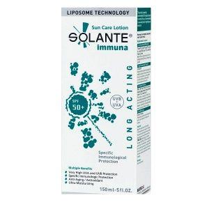 Solante Immuna SPF 50+ Deri Kanserini Önlemeye Yardımcı Güneş Koruyucu Losyonu http://www.narecza.com/Solante,LA_2459-3.html#labels=2459-3
