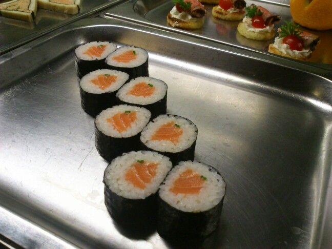 Lazac sushi @ Trofea Grill Kiraly u.