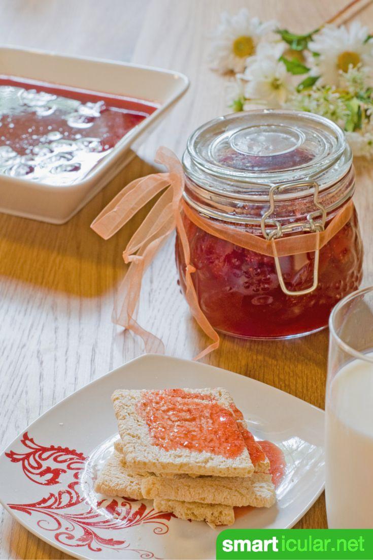 7 Tipps für hausgemachte Marmeladen und Gelees ohne Gelierzucker