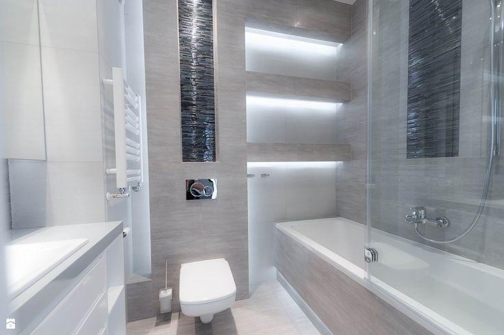 Azienka styl nowoczesny zdj cie od all design agnieszka for 8 x 16 bathroom ideas