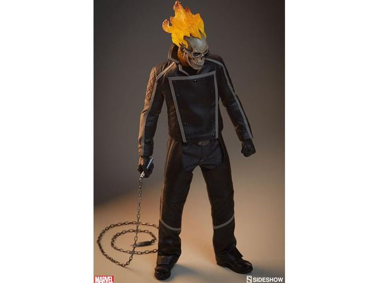 1/6 Scale Marvel Action Figure - Ghost Rider -  Marvel Action Figures & Toys 1/6 Scale Figures