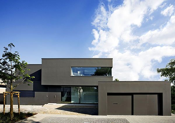 Georg d ring architekten einfamilienhaus haus for Minimalistisches haus grundriss