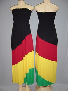 Rasta Clothing | Rasta Empress Tube Full Length Dress.Size:S,M,L in H dress home ...