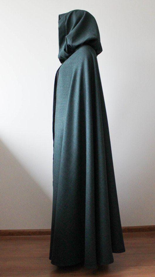 peleryna elfa, peleryna wampira, szycie na maszynie, szycie peleryny, szycie ubrań, blog o szyciu, blog krawiecki, sewing, making clothes