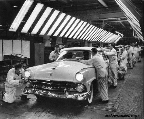 Assembly Line, December, 1955