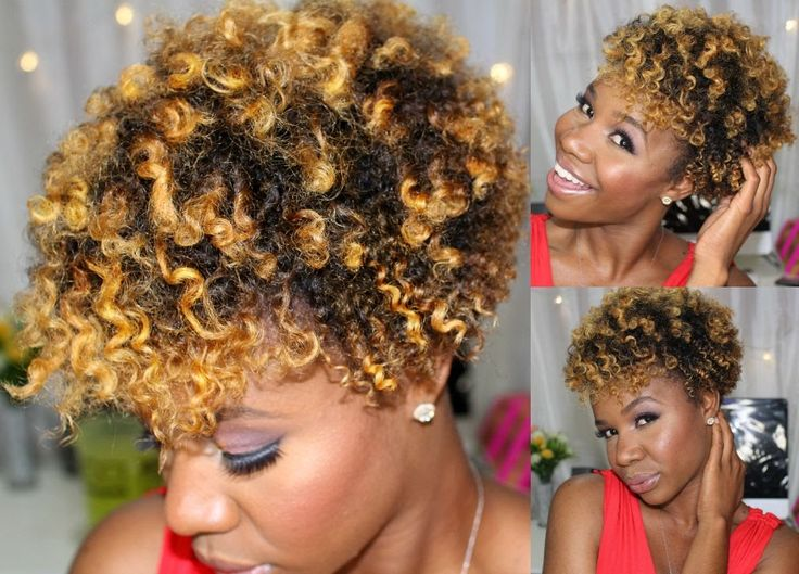 Defined Flat Twist Out On Short Natural Hair ❤❤❤
