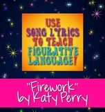 """Free Downloads: """"Firework"""" by Katy Perry Poetry Terms Figu"""