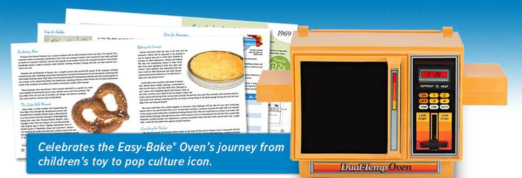 A glimpse inside Light Bulb Baking: A History of the Easy-Bake Oven by Todd Coopee.  #easybakeoven #lightbulbbaking
