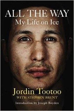 Jordin Tootoo, All the Way: My Life on Ice Jordin Tootoo opens up about his life: 'Not just a hockey book' 'This book is really to help people open up and not be afraid to speak'
