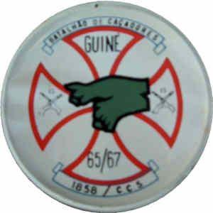 Companhia de Comando e Serviços do Batalhão de Caçadores 1858 Guiné 1965/1967