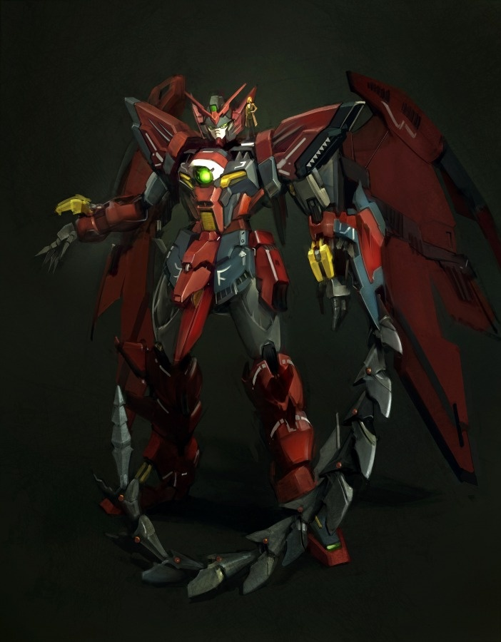 Gundam EPYON = Awesome    Gundams makes me feel like a geek but I love them anyway.