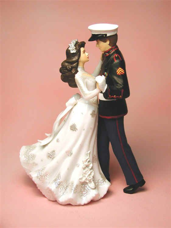 I would love to have a Marine cake topper but cant find any online that u can create your own