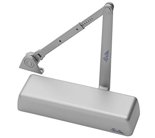 Yale 5811 x 689 Door Closers, Cast Iron Body, 689 Painted Aluminum Finish, Hold Open Arm, Full Cover, Door Sizes 1 to 6