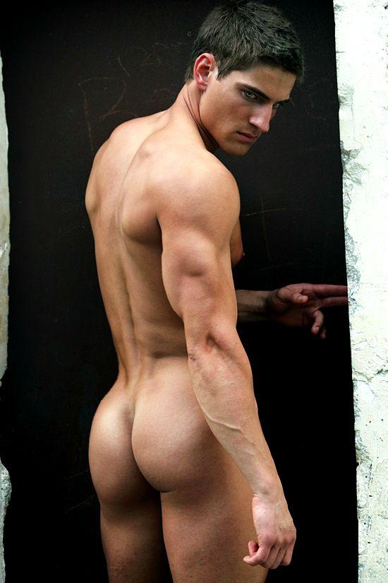 Ass bare butt flash flip moon naked white