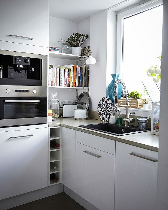 Kitchen planning ideas: built-in appliances keep the space clutter-free