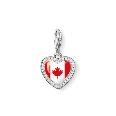 "Charm ""Heart flag"" – Charms – Women – THOMAS SABO"