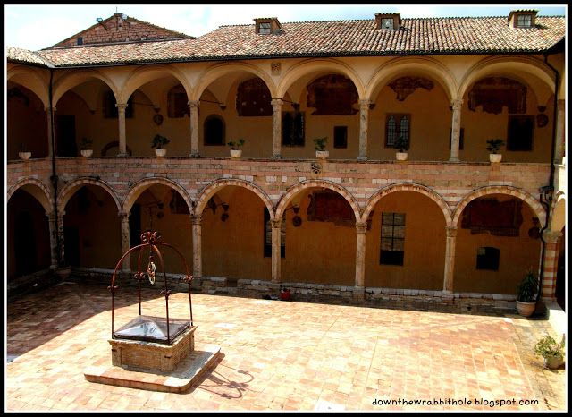 """The interior of the Basilica of St Francis of Assisi. Find out more at """"Down the Wrabbit Hole - The Travel Bucket List"""". Click the image for the blog post."""