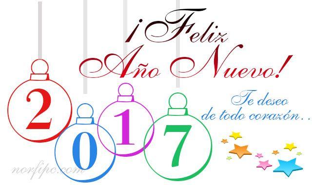 En este mensaje van mis más sinceros deseos de felicidad para ti y los tuyos, en este año nuevo que comienza. ¡Feliz Nuevo Año!