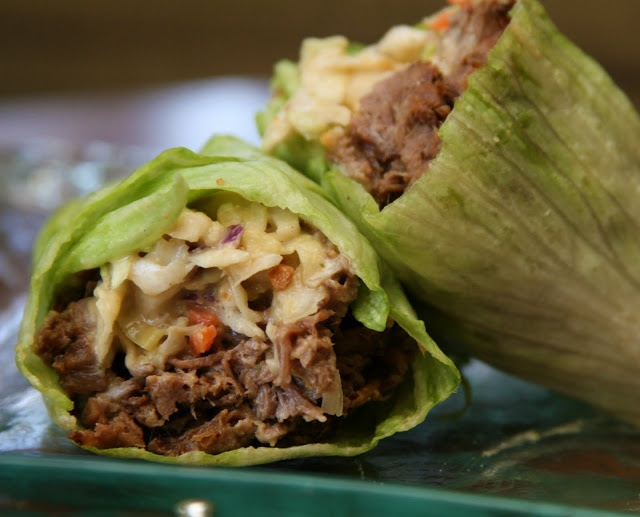 Thai Beef Lettuce Wraps   Life As A Plate