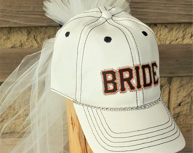 Bride Baseball Cap With Veil In 2020 Mom Hats Sports Themed Wedding Baseball Mom Hat