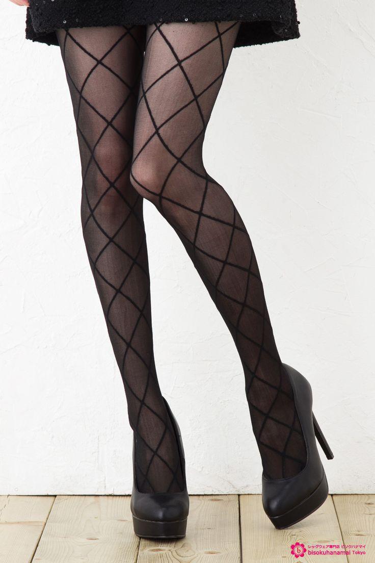 Argyle tights