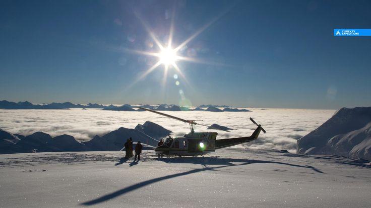 Хеликсиинг туры. Канадские скалистые горы. Британскя Колумбия, Канада