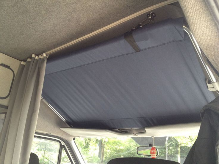 Light weight bed above cab