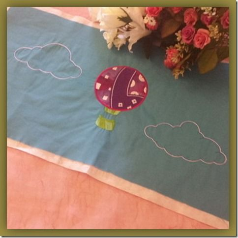 Exclusive Stitches: ES005–Up Up And Away Applique