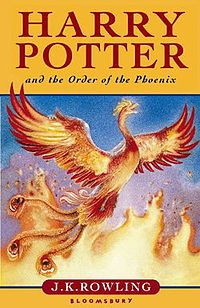 The novel features Harry Potter's struggles through his fifth year at Hogwarts School of Witchcraft and Wizardry, including the surreptitious return of the antagonist Lord Voldemort, O.W.L. exams, and an obstructive Ministry of Magic.