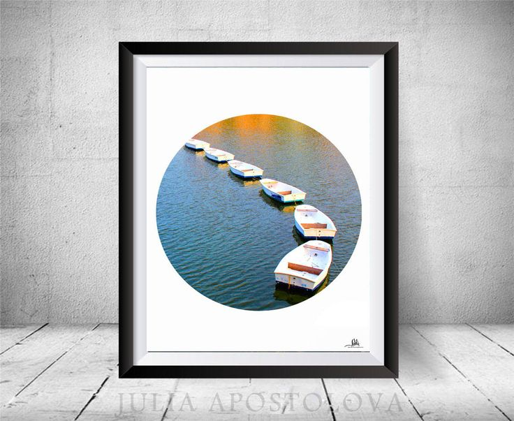 #Boats #Circle #Prints, #SetofTwo, #Boat #Printable #WallArt #Photography, #Summer #France #Photo, #Bound #BoatsinWater, #Signed, #Nautical #WallDecor by #JuliaApostolovaArt on #Etsy #Photo #Printable, #MinimalPoster #Office #Decor by #JuliaApostolova #officedecor #interior #homedecor