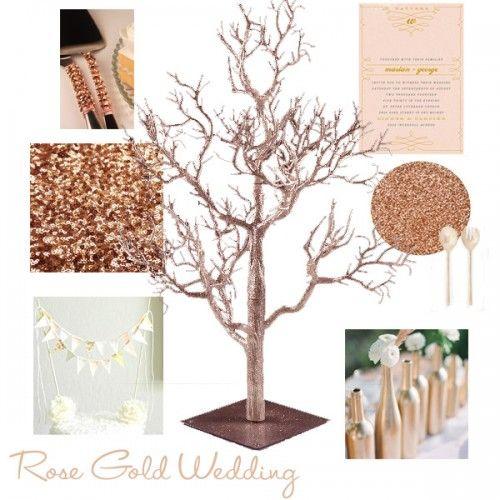Best ideas about rose gold centerpiece on pinterest