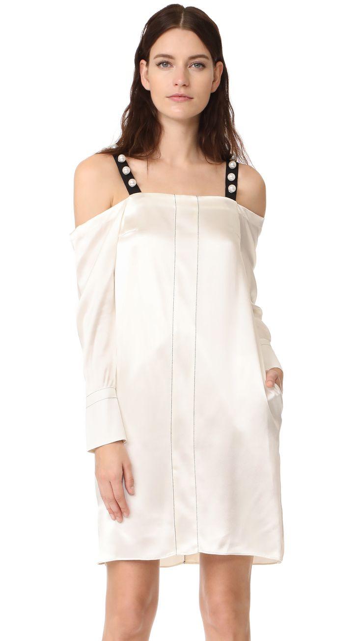 3.1 Phillip Lim Cold Shoulder Dress | SHOPBOP