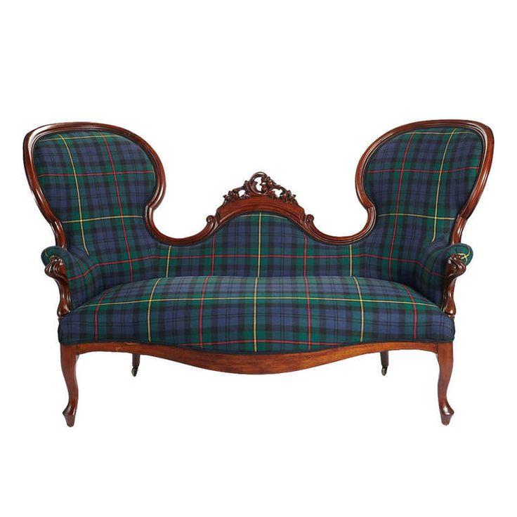 Tartan Sofa Decor