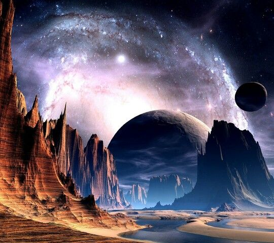 Vintage Science Fiction Wallpaper Google Search: 42 Best Other Worlds Images On Pinterest