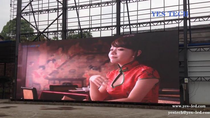led display screen outdoor P5.9 72hours uninterrupted aging test